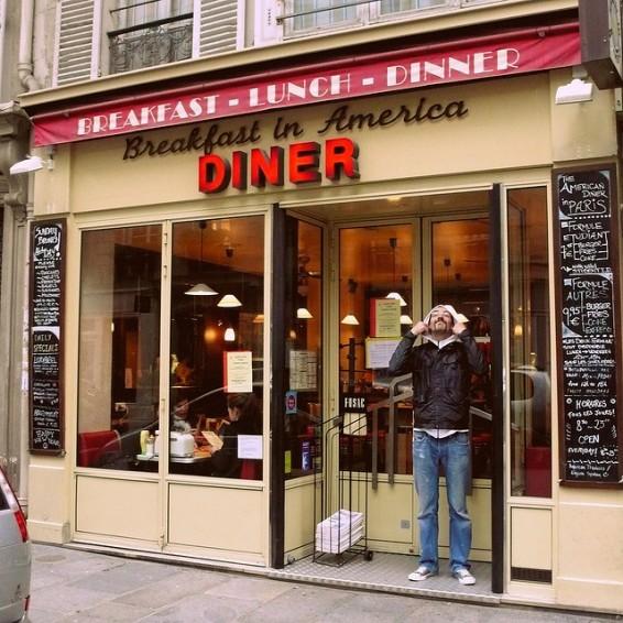 Breakfast in America in Paris - eat cheap in Paris
