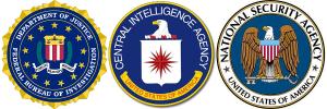 FBI x CIA x NSA