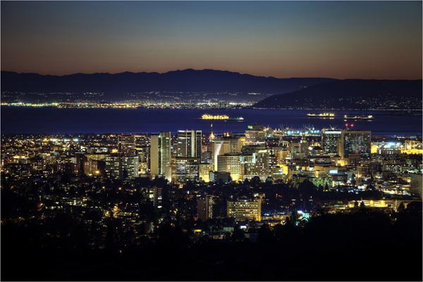 Oakland Uptown Dusk