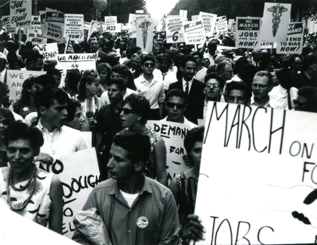 Frank Espada: March on Washington 1