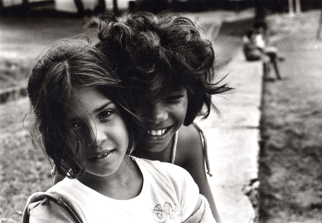 Frank Espada: Two Girls Smiling