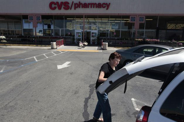 Renie Riemann closes her trunk as she packs up Top Dog where she has worked for more than 24 years in Oakland, Calif. on Friday, June 13, 2014. The CVS, which was previously a Payless, was a place where you could buy a hot dog, repair your shoes and buy household items in one stop. Photo: James Tensuan, The Chronicle