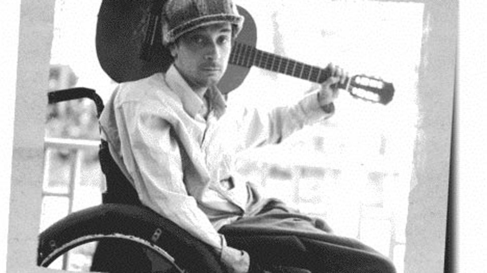 Singer/song writer Vic Chesnutt