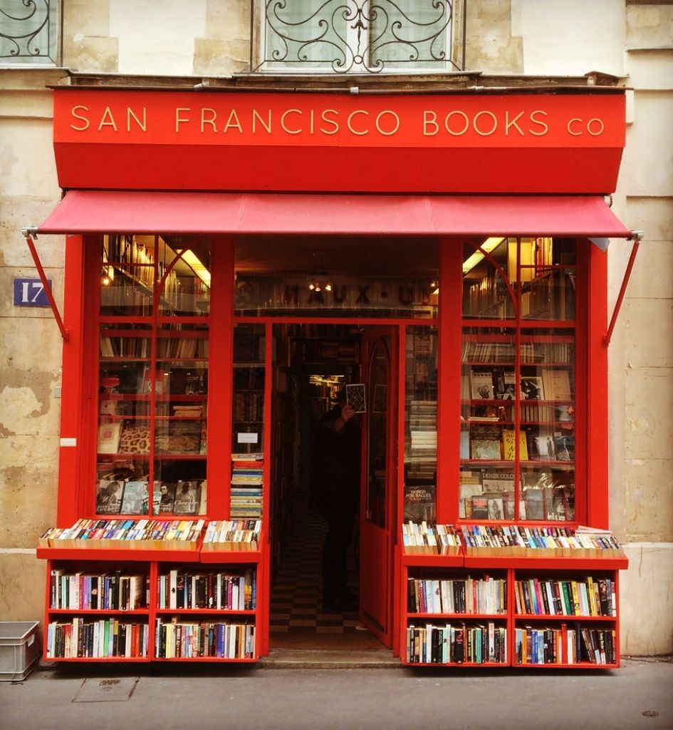 San Francisco Book Co., 17 rue Monsieur le Prince, Paris.