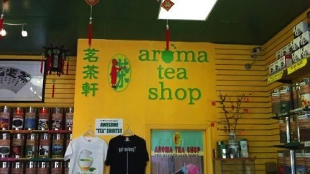 Aroma Tea Shop inside