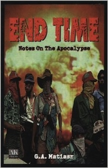 2nd printing cover of END TIME built by JOHN YATES at STEALWORKS.